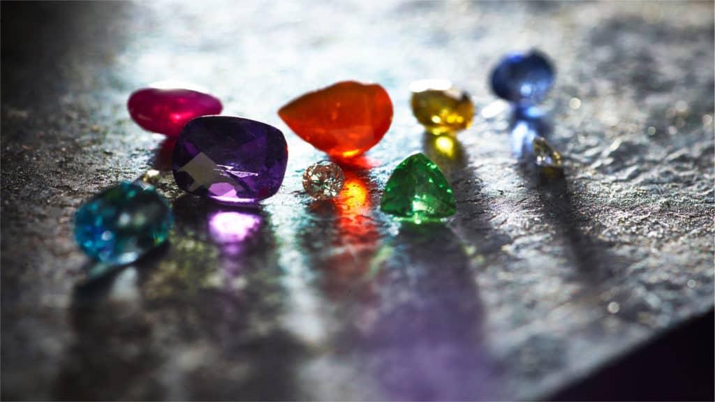 Prism Design Gem Stones